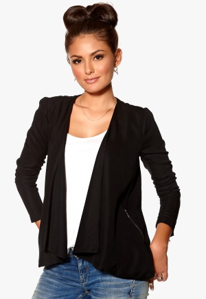 ONLY Ella LS Long Blazer Black Bubbleroom.se