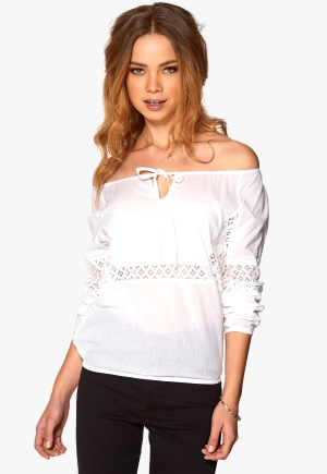 Rut & Circle Ella Blouse 002 Optical White 36 thumbnail