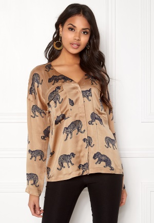Twist & Tango Savannah Blouse Cheetah Print 40 thumbnail