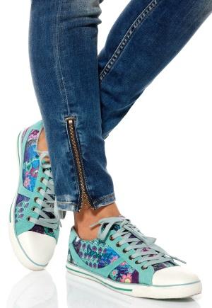 Desigual Sneaker Vulcanizada Shoe Flox Bubbleroom.se