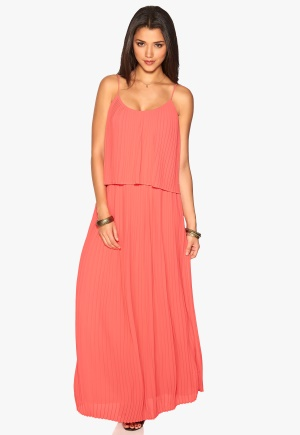 VILA Longing maxi dress Sunkist Coral M thumbnail