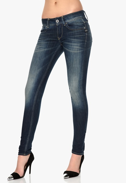 G-STAR Lynn Skinny Jeans 071 Medium Aged Bubbleroom.se