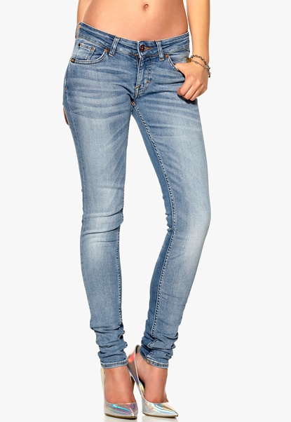 Tiger Jeans Slender Jeans 21F Medium Blue Bubbleroom.se