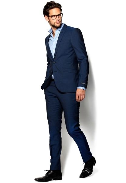 TIGER OF SWEDEN Nedvin Suit 368 Cobolt Bubbleroom.se