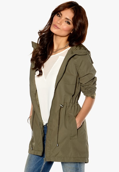 VILA Zoe Detail Jacket Ivy Green Bubbleroom.se
