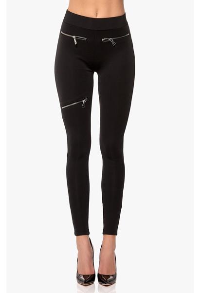 Chiara Forthi Super Slim Stretch Pants Black Bubbleroom.se
