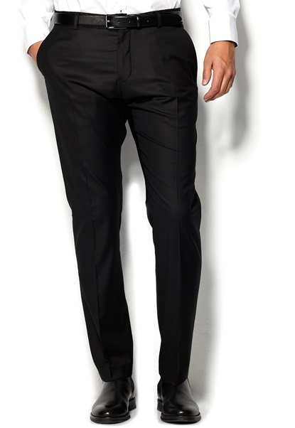 SELECTED HOMME One Logan Trousers Black Bubbleroom.se