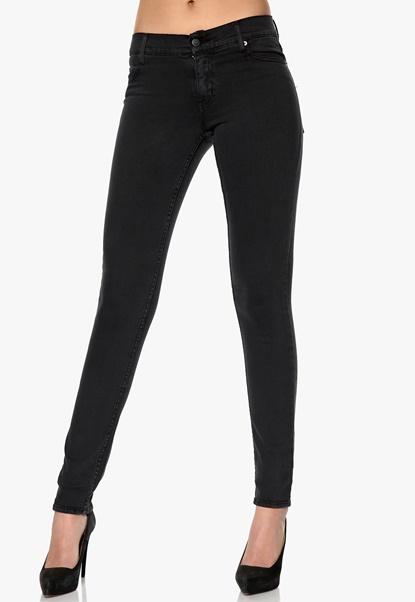 CHEAP MONDAY Tight Jeans Very Stretch Black Bubbleroom.se