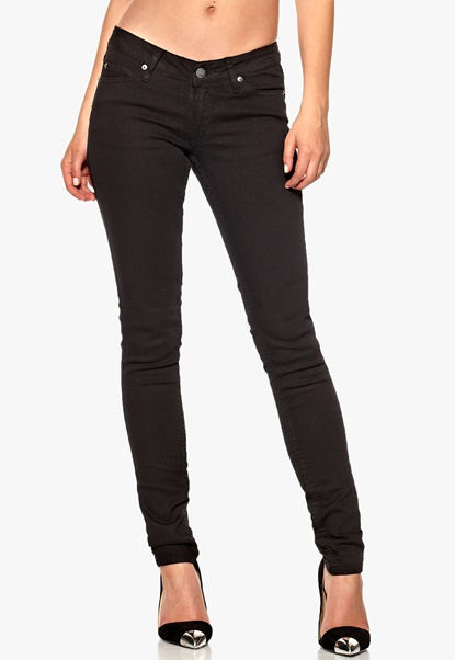 CHEAP MONDAY Slim Jeans Pitch Black Bubbleroom.se