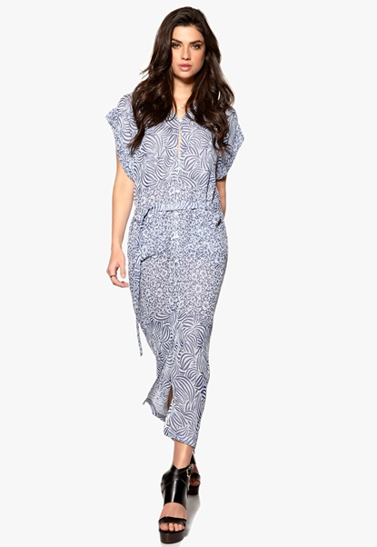 RODEBJER Saki Dress 680 Indigo Bubbleroom.se