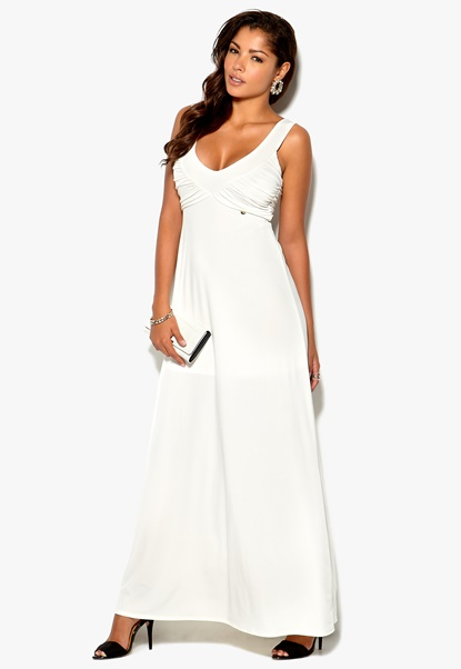 Rich Bitch Paloma Maxi Dress Pearl Bubbleroom.se
