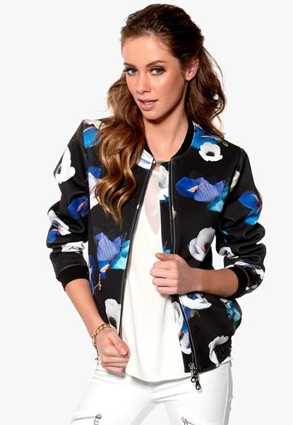 Minimarket Dixie Jacket Printed Bubbleroom.se