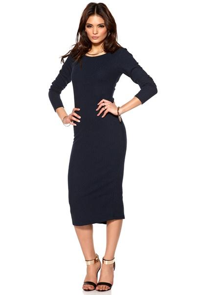 VILA Intras Dress Total Eclipse Bubbleroom.se