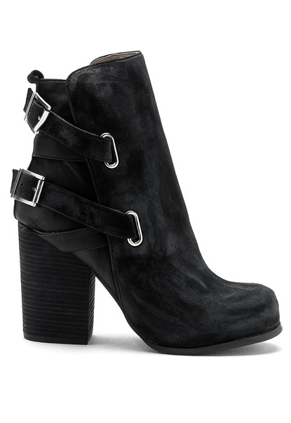 Jeffrey Campbell Summit Black leather/suede Bubbleroom.se