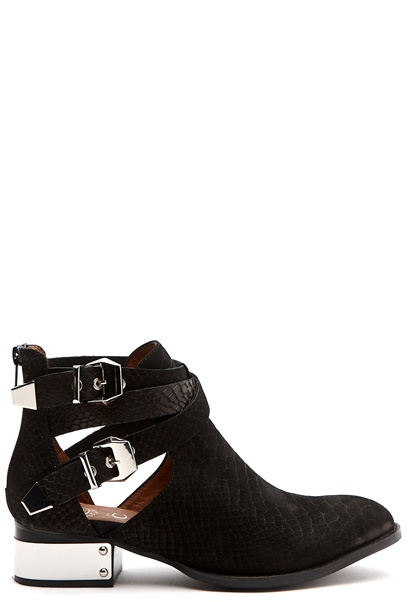 Jeffrey Campbell Everly-PL Black snake Bubbleroom.se