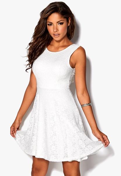 Chiara Forthi Celinne Dress Cream Bubbleroom.se
