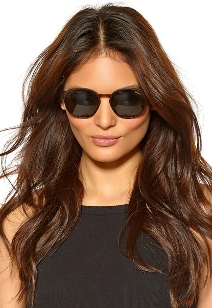 Le Specs Swizzle Sunglasses Copper/Khaki Mono Bubbleroom.se