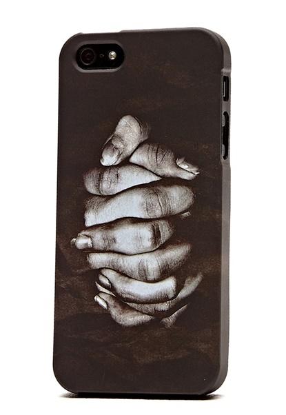 Linnea Frank Iphone 5 Case BlackPrint Bubbleroom.se