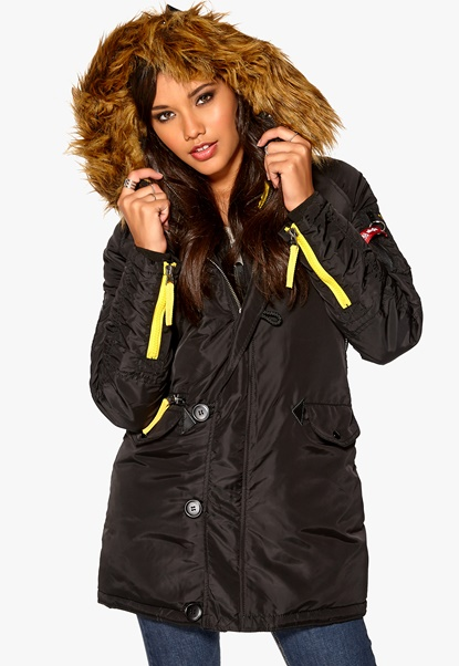 Alpha Industries PPS N3B Black Bubbleroom.se