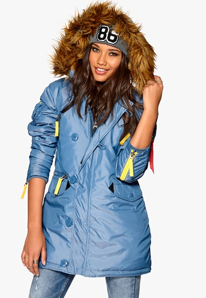 Alpha Industries PPS N3B Blue Bubbleroom.se
