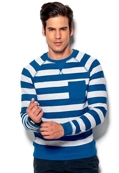 Blend Sweatshirt 74009 turkish Sea Bubbleroom.se