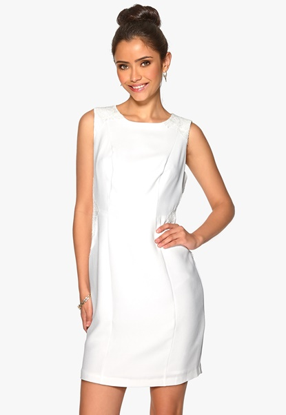 Darling Gabriella Dress White Bubbleroom.se