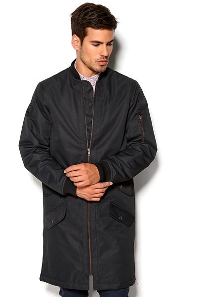 D.Brand Bomber Coat Black Bubbleroom.se