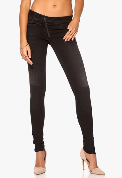 G-STAR Lynn Zip Skinny Jeans 4840 Shablon Wash Bubbleroom.se