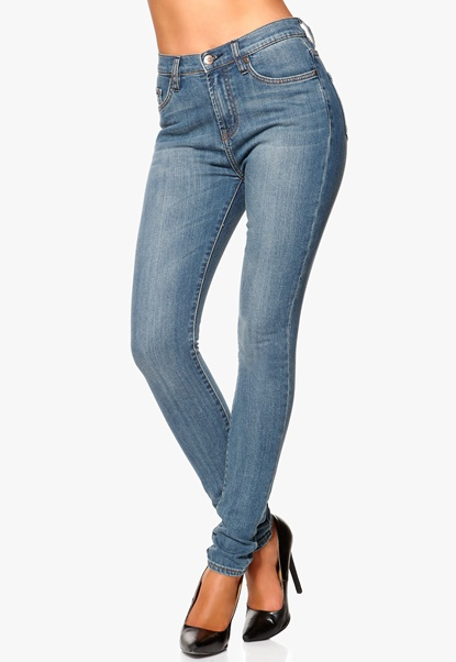 Gul & Blå Higher Jagger Jeans L35 Light Blue Bubbleroom.se