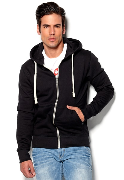 JACK&JONES Storm Sweat Black Bubbleroom.se