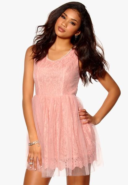 Model Behaviour Amelia Dress Pink Bubbleroom.se