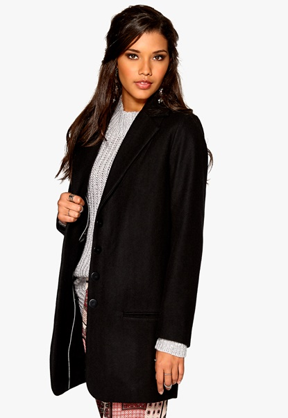 Minimarket Jenny Coat Black Bubbleroom.se
