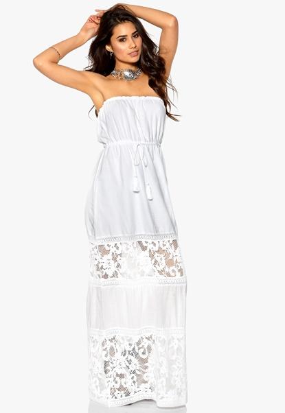 Make Way Amira Dress White Bubbleroom.se