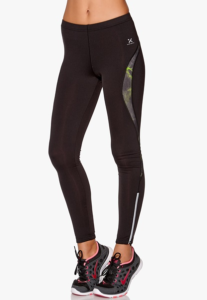MXDC Last Atomic Ice Tights Black/Green gekko Bubbleroom.se