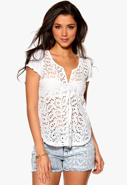 Odd Molly All In Blouse White Bubbleroom.se