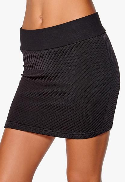 ONLY Dylaney Short Skirt Black Bubbleroom.se