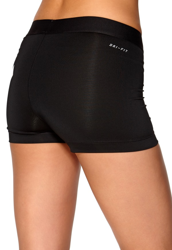 nike pro logo shorts sports fashion shorts on the hunt. Black Bedroom Furniture Sets. Home Design Ideas