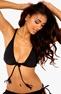 BEACHWAVE Bikini-bh Svart Bubbleroom.se