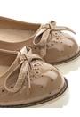 Have2have Loafers med vit gummisula, Crystal Beige