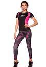 MXDC Ladies running ventilation 0049Black/Pink