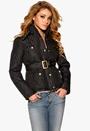 Chiara Forthi Kelsey Quilted Jacket Black Bubbleroom.se
