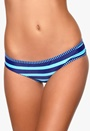 Roxy Shirred Bandeau Boy Brief Blue Wave PQS3
