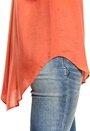 Rut & Circle Lara Shirt 947 Fresh Coral