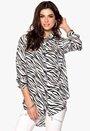 Rut & Circle Lara Shirt 087 Zebra Bubbleroom.se