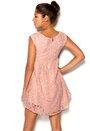 Chiara Forthi Giulia Lace Dress Pink