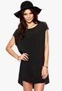 VILA Meshy Tunic Black Bubbleroom.se