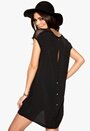 VILA Meshy Tunic Black