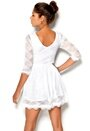 Chiara Forthi Beata Dress White