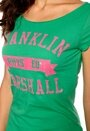Franklin & Marshall T-shirt Pitch Green