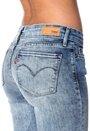 LEVI'S Curve ID Skinny 0633 Fade Blue